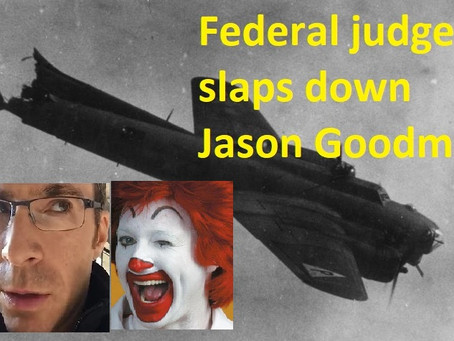 Federal judge slaps down Jason Goodman's COVID case transfer request, freezes lawsuit for 60 days