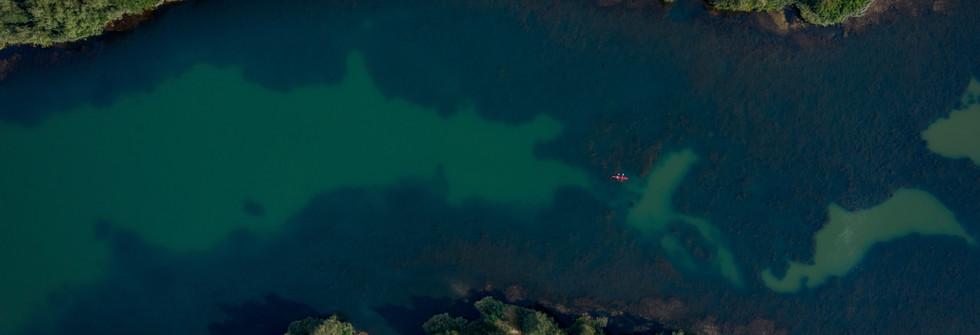 Luftbild See _ Wasser