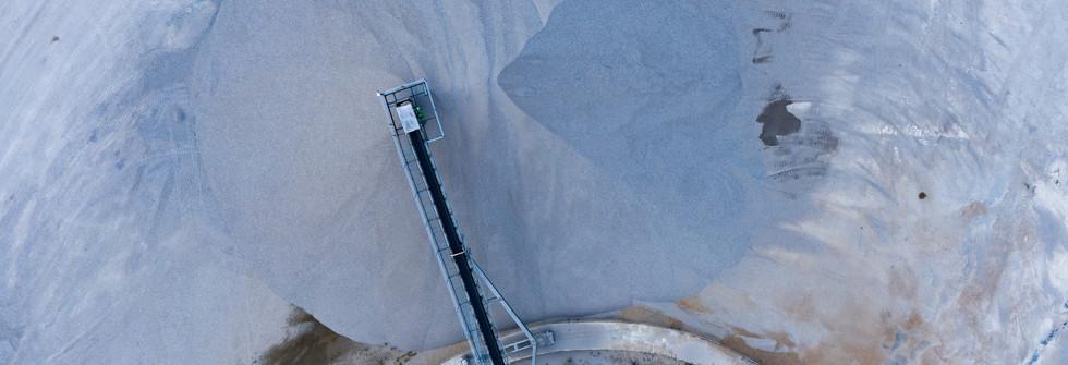 Luftbild _ Drohnenbild Kieswerk Dixförda