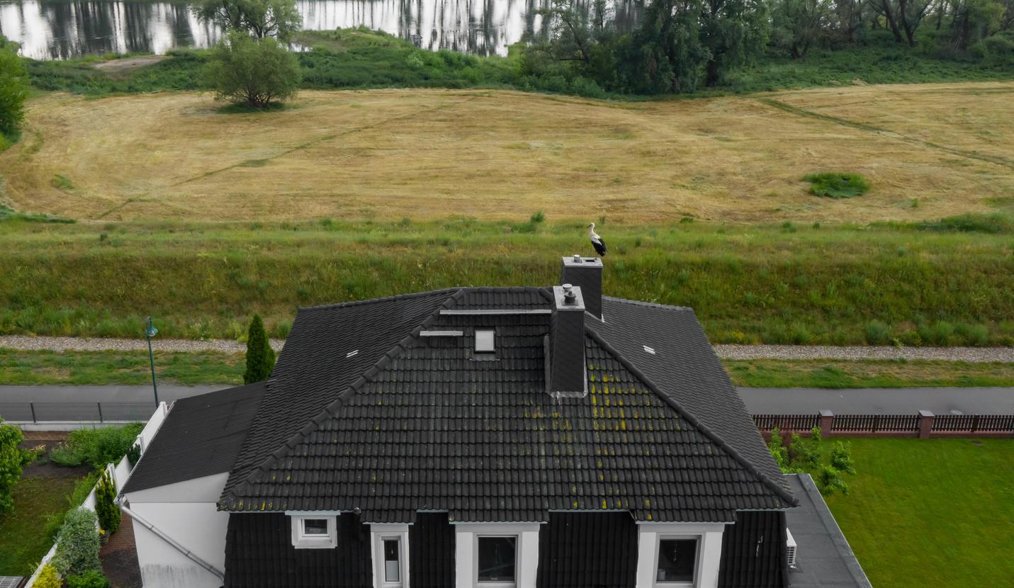 Luftbild Dach _ Storch