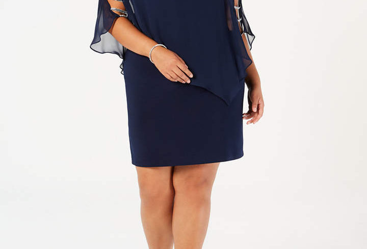 MSK Cold Shoulder Dress