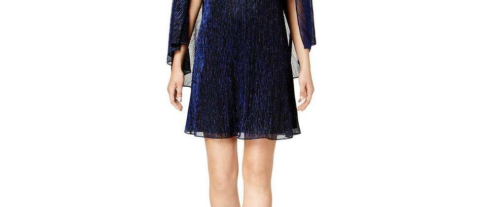 Calvin Klein Cape Shift Dress
