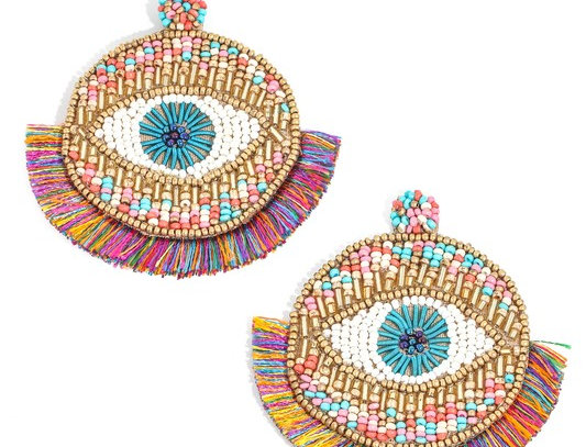 Evil Eye Multicolor Earrings