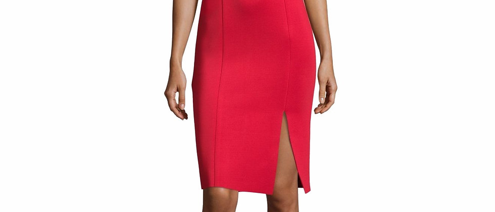 Betsy & Adam Women's Ruffle-Sleeve Off-The-Shoulder Dress