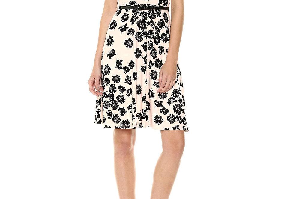 Tommy Hilfiger Floral Dress With Belt
