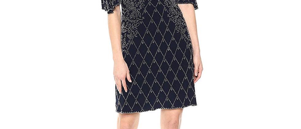 Xscape Cold Shoulder Dress