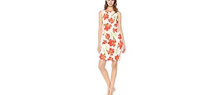 Calvin Klein Floral Dress