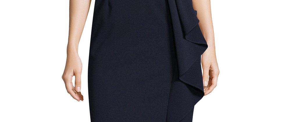 Adrianna Papell Embelished V-neck Dress