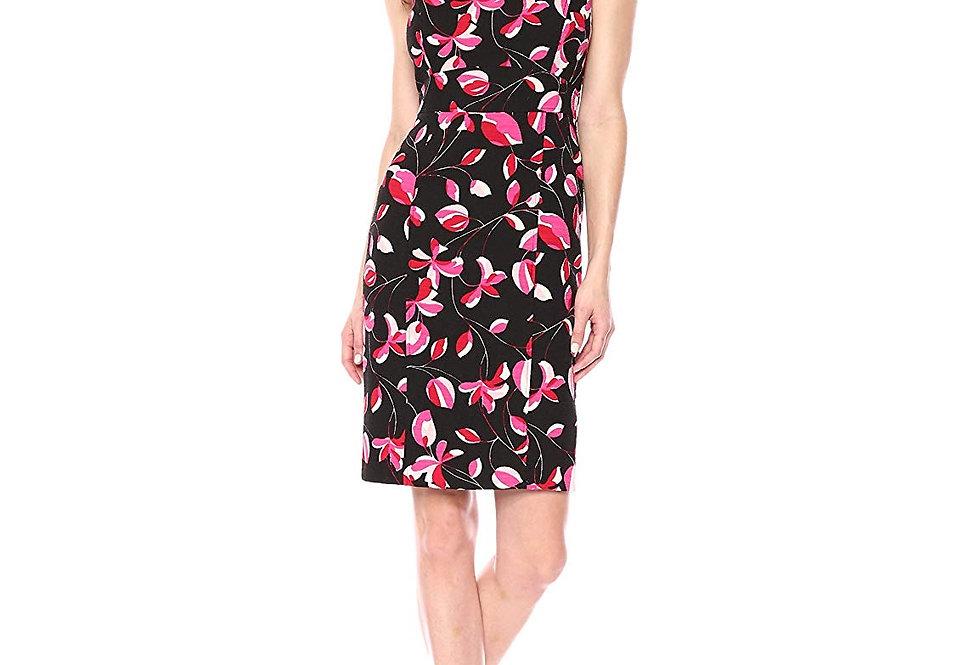 Kasper Floral Midi Dress