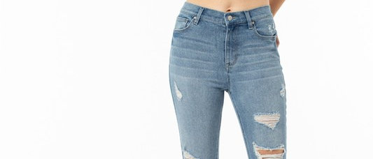 Fall Out Ankle Skinny Jean
