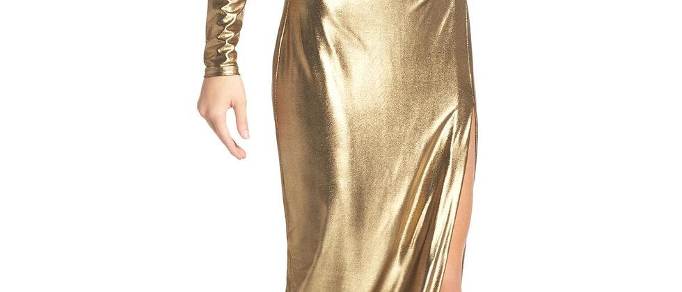 Bardot  One Shoulder Wrap Dress