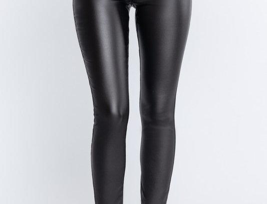 PU leather pants