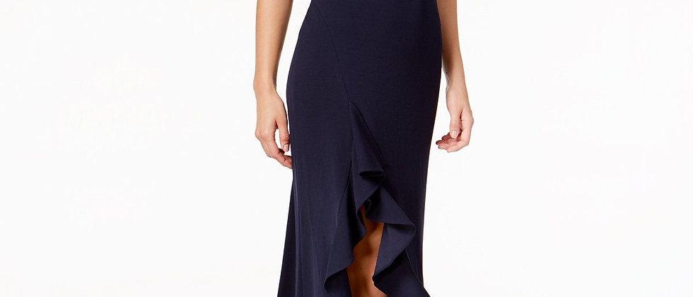 Calvin Klein Open Leg Long Dress