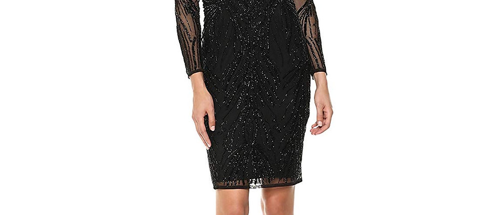 Adrianna Papell Cold Shoulder Dress