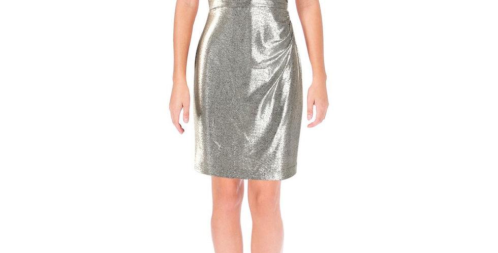 Ralph Lauren Silver Dress