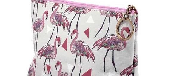 Cosmetiquera de Flamingos
