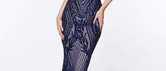 Off the Shoulder Sequin Dress