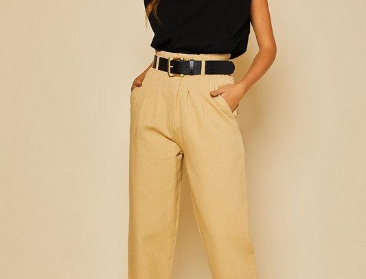 Natural Baggy Denim Pants