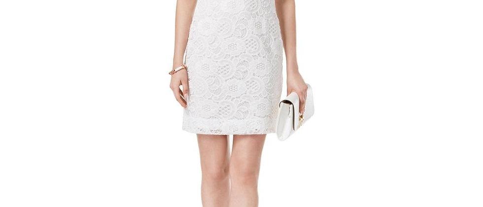 Signature By Robbie Bee Womens Medium Petite Sheath Dress