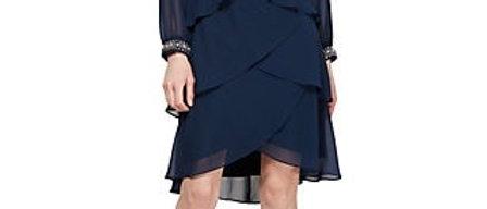 SLNY Fashions Long Sleeve Tier Dress