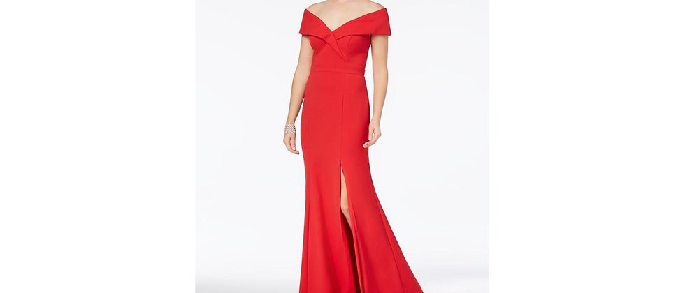 Xscape Off The Shoulder Mermaid Gown