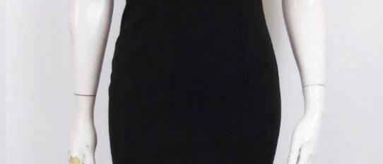 Black Off-the-Shoulder Bodycon Dress
