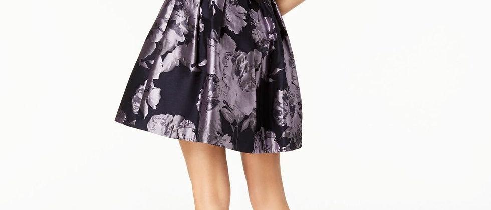 Xscape Off The Shoulder Floral Dress