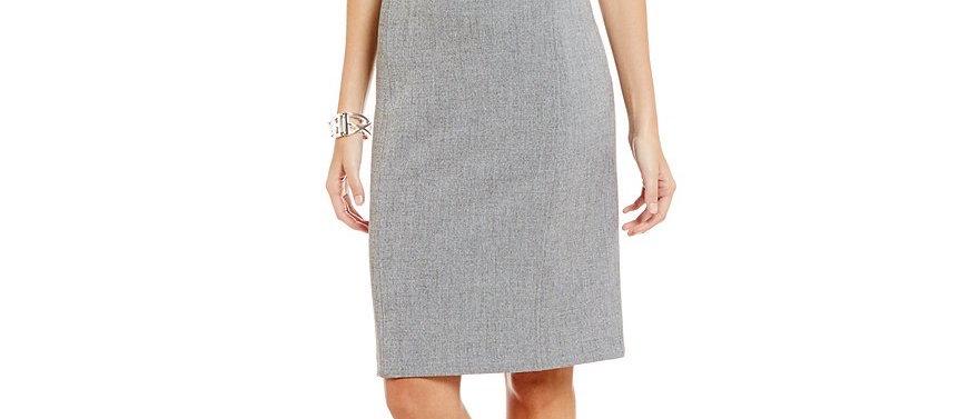 Kasper Women's V-Neck Dress