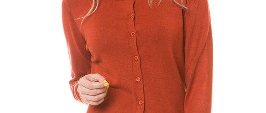 Round Neck Button Down Knit Cardigan
