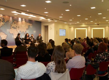 تقرير: اطلاق فعالية إعادة الإعمار وحقوق الإنسان في مركز تشاثهام هاوس