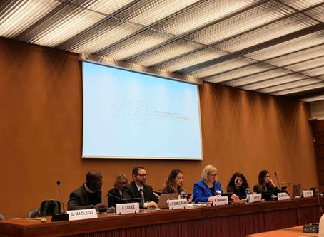 """مشاركة البرنامج في حلقتي نقاش في """" منتدى الأمم المتحدة المعني بالأعمال التجارية وحقوق الإنسان"""""""