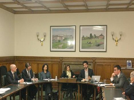 البرنامج السوري للتطوير القانوني  يتحدث في البرلمان البريطاني: