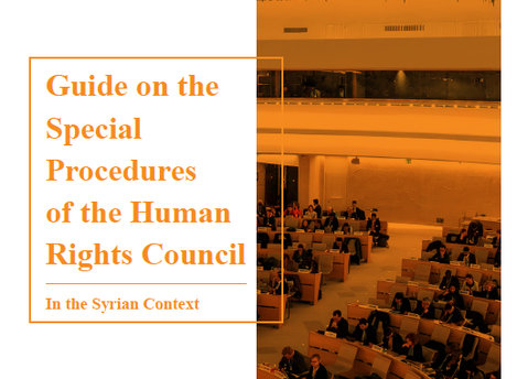 Guide On The Special Procedures Of The Human Rights Council In The Syrian Context
