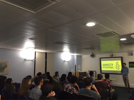 S​LDP delivered a talk at an event  hosted by Amnesty International Society at the University of Liv