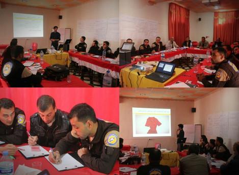SLDP trains the Syrian Civil Defence on IHL