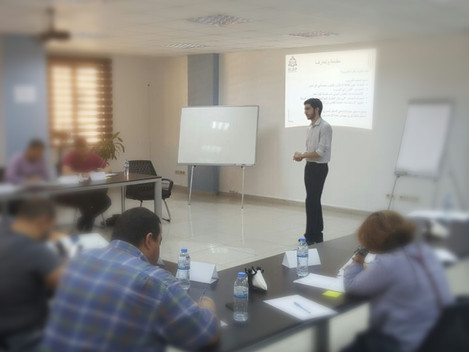 SLDP conducts international law training for Syrian Journalists