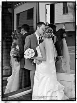 kissing....