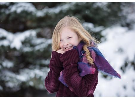 A letter to my daughter in the snow in Springboro, Ohio