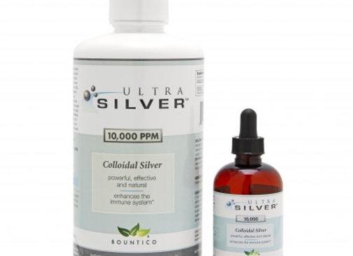 Colloidal Silver 10k,  ppm / Gallon