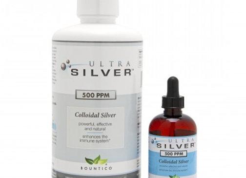 Colloidal Silver / 500 ppm. Gallon