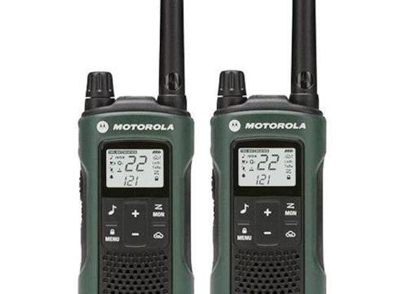 Motorola T465 35 Mile Range 2-way Radio w/ E Alert, Vibrate, Flashlight