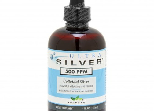 Silver Colloid  4oz / 500ppm /  (2 pack)