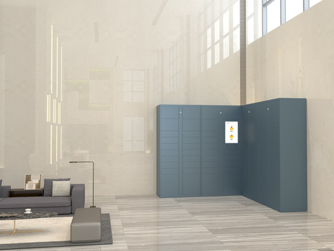 Avoid Messy Parcel Rooms with BlueBox Smart Locker Solution