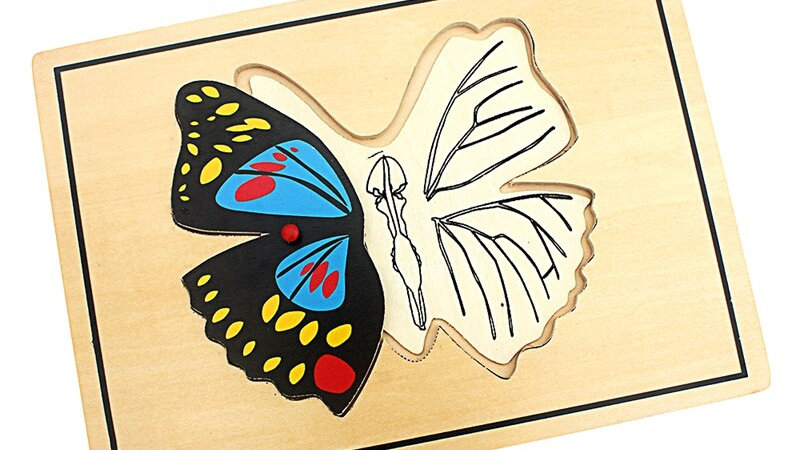 Children's Butterfly Puzzle also Fly and Dragonfly options
