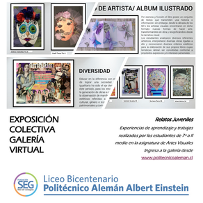 Relatos Juveniles/Exposición Virtual de Artes Visuales