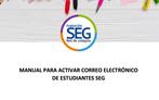 Activa tu correo institucional de estudiante SEG