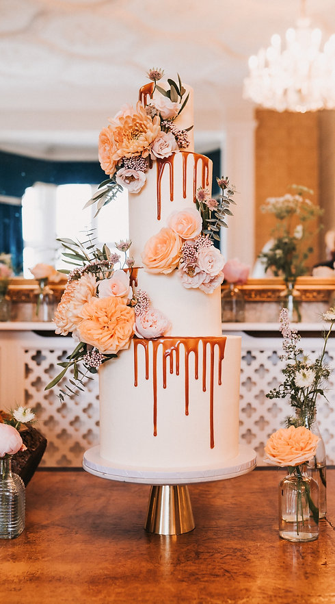 Sussex Floral Wedding Cakes