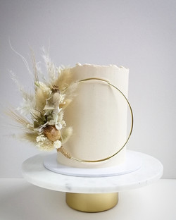 Dried Flower Cake