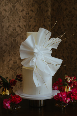 Wafer Paper Wedding Cake Sussex