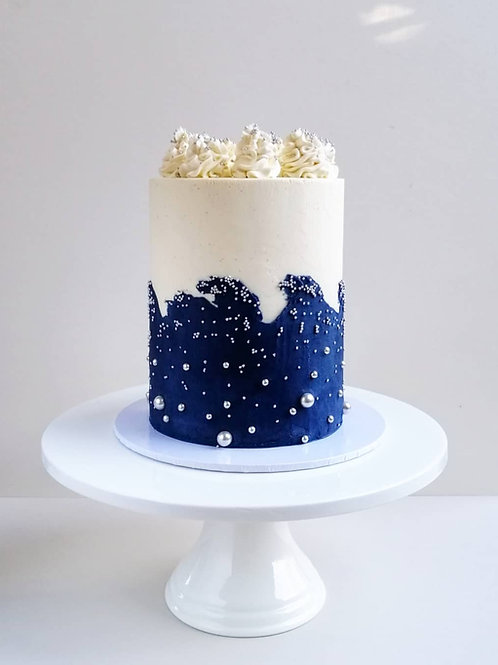 Waves Celebration Cake